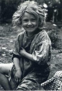 This isn't Barbara, but this is how cute I remember her.